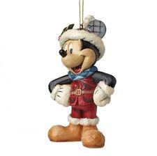 Disney Weihnachts Ornament Mickey Mouse Figur Anhänger Enesco A28239