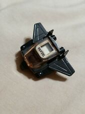 Transformer Kronoform Deceptor Watch Vintage G1 Black Chrome Rare 1985 Takara
