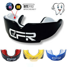 CFR Mouth guard Case Protection Football MMA Boxing MouthPiece Grinding ADULT