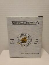 "Boyds Bearly-Built Villages ""Wunnerful Village Accessory Stuff"" - # 19032-1"