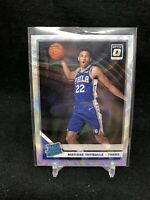 2019-20 Optic Fanatics Silver Wave Prizm #192 Matisse Thybulle Rated Rookie G18
