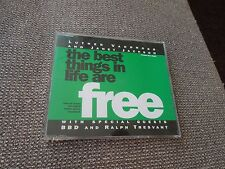 Luther Vandross & Janet Jackson The Best Things In Life Are Free RARE 3trk CD