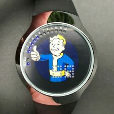 Rare FALLOUT FOT4011 Vault Boy Touch LED 42mm watch - New w/out Tags