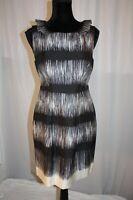 Banana Republic Women's Dress Corporate sleeveless Mint amazing design silk 8P