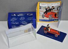 TINTIN Atlas red CAR # 2 Bolide Rouge Cigars &figures Original box Certification
