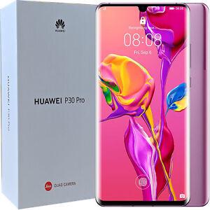 BNIB Huawei P30 Pro Dual-SIM 128GB ROM Lavender Factory Unlocked 4G/LTE SIMFree