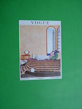 Postcard VOGUE Early January 1919 Condè Nast London One Shilling Six Pence Net