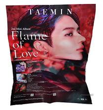 "SHINee Tae Min Flame of Love 2017 Taiwan Promo ""Folded"" Poster (TaeMin"