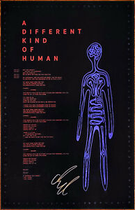 AURORA A Different Kind Of Human 2019 Hand Signed Ltd Ed RARE Lithograph Poster!