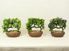 Bonsai Tree in Clay Pot, Artificial Plant Decoration for Office and Home