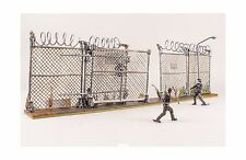 McFarlane Toys The Walking Dead AMC TV Series Prison Gate Fence Building Set New