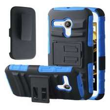 Blue Rigid Plastic Cases/Covers for Motorola Moto G
