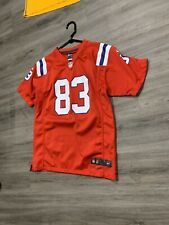 Women's Nike On The Field Red New England Patriots Jersey Wes Welker XL