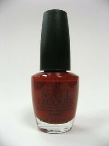 "OPI Nail Lacquer ""NL B21 LONDON BRIDGE IS FALLING BROWN"" BRITISH COLLECTION 2003"