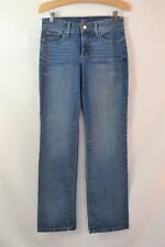 NYDJ Not Your Daughters Lift Tuck Medium Wash Straight Leg Jeans Size 2P x 29