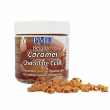 PME Belgian Chocolate Curls and Cigarellos for Decorating Cakes Muffins Cupcakes