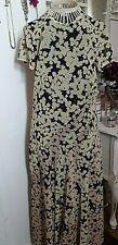 & Other Stories Daisy Print Midaxi Mesh Dress EU 42 UK 14