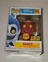 Hades (Hercules) 381 Funko Pop Disney! *Hot Topic* -Diamond- w/Protector *Chase*