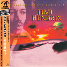 Jimi Hendrix First Rays Of The New Rising 2000 Japan Mini LP CD 1st ED UICY-9010