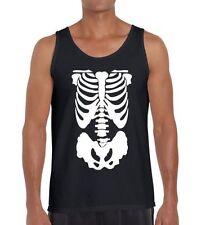 Cotton Sleeveless T-Shirts for Men Punk