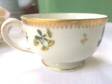 BELLISSIMO VINTAGE SUISSE LANGENTHAL in porcellana dipinti a mano Fiori Tazza Caffè