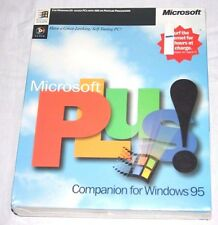 New Sealed Microsoft Plus! Companion Windows 95 Software PC Computer 61497