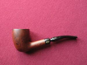 Unsmoked half bent calabash Sina Vogue briar pipe bruyère new NOS tie-vintage