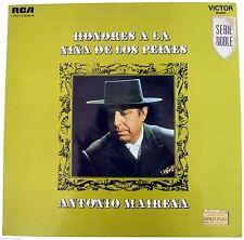 ANTONIO MAIRENA Honores A La Nina De Los Peinas LP Record Flamenco Singer 1969