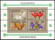 MALAWI 1969 FLORA: Flowers Orchids. Souvenir Sheet, MNH
