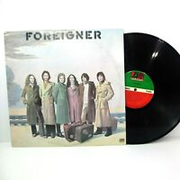 "FOREIGNER 1977 Foreigner 12"" Vinyl 33 LP Atlantic SD 19109 Cold As Ice ROCK vg+"