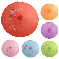 HB- Chinese Vintage Silk Umbrella Wedding Decor Photo Shoot Parasol Dance Props