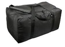 Black Tactical Gear Bag - Full Access Gear Bags - Large Sleek Equipment Bag