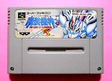 b610 THE RORD ELEMENTAL Nintendo Super Famicom Japanese Game Japan SNES SFC USED