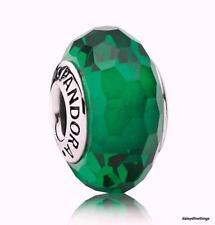 NWT AUTHENTIC PANDORA CHARM MURANO GLASS FASCINATING GREEN #791619