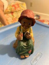 Martha Holcombe All Gods Children Prissy w/Moonpie Collectible Figurine