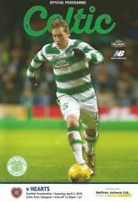 Scottish Premier League Teams C-E Celtic Football Programmes
