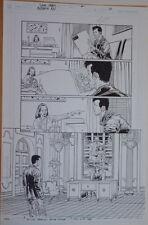 GLENN FABRY original art, AUTHORITY KEV #1, pg 20, 11x17, more Fabry in store