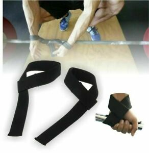 Wrist Weight Lifting Training Gym Straps Hand Support Grip Glove Body Building