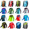 Mens FOX Riding Jersey Long Sleeve T-shirts Motocross/MX/ATV/BMX/MTB Dirt Bike