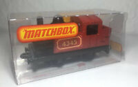 MATCHBOX Eisenbahn Zug Dampf lok SUPERFAST 43 STEAM LOCOMOTIVE in OVP Rail Train
