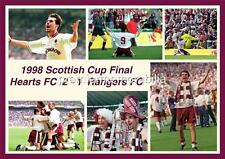 HEART OF MIDLOTHIAN FC HEARTS FC 1998 SCOTTISH CUP FINAL STEPHANE ADAM PRINT