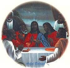 Ceramic Decals African American Jesus Last Supper Religious