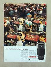 D970 - Advertising Pubblicità -1987- OTTICHE UNIVERSALI KIRON