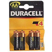 Duracell Alkaline Battery AA Standard Size 4 Pack