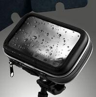 "étanches Vélos / moto Case & Supports pour 5"" GPS Garmin Nuvi TomTom One, GO, XL"