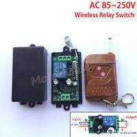 AC 110V 220V 230V 1CH Wireless Remote Control Relay Switch Receiver On/Off Board