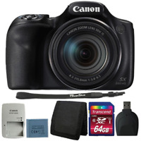 Canon Powershot SX540 HS 20.3MP Digital Camera 50x Optical Zoom with 64GB Kit