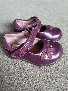Clarks Girls First Shoes Size 4H