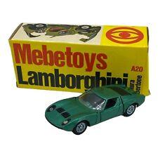 Mebetoys Italy 1/43 Diecast Lamborghini Miura n. A20  Collectible Model Car