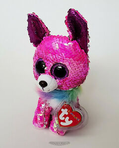 🚦Ty Flippables CHARMED Chihuahua Dog - 2020 - NEW - MWMT